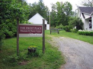 The Frost Place, Sugar Hill, NH Sign 2013